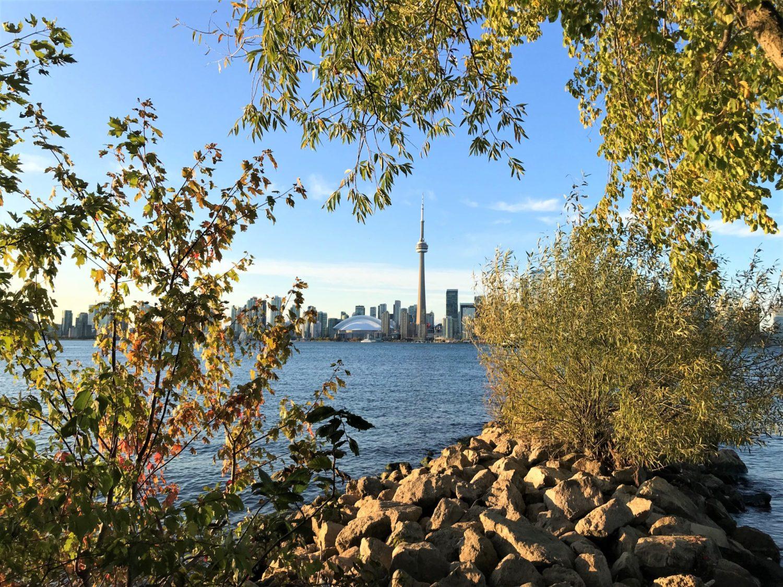 Toronto as seen from Toronto Main Island
